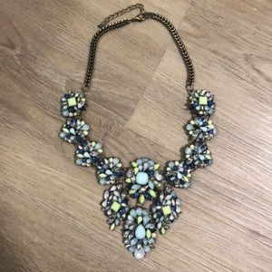 Jewelry - Blue and Green Statement Necklace